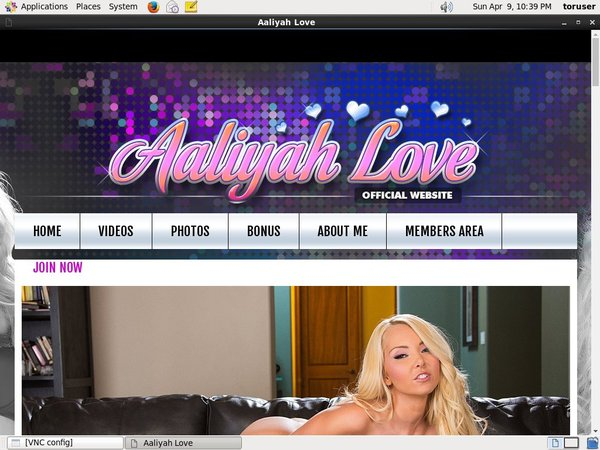 Aaliyahlove.com Signup Page