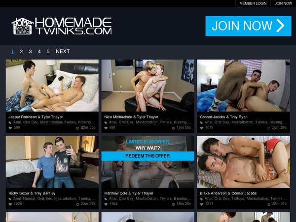 Account On Homemadetwinks