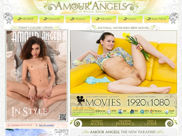 Amour Angels Promo Tour