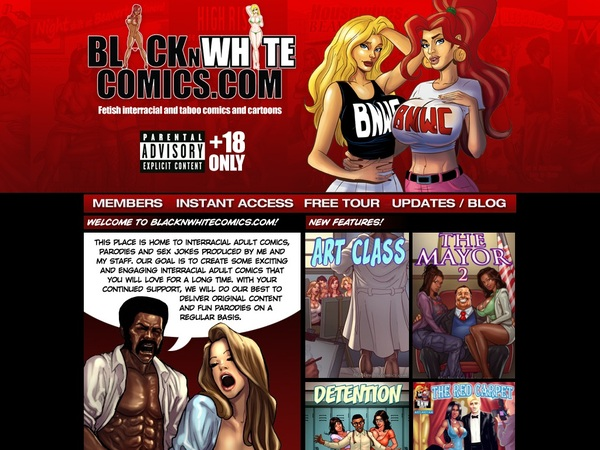 Blacknwhitecomics.com Free Tube