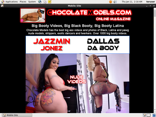 Chocolate Models Mobile Pass Word