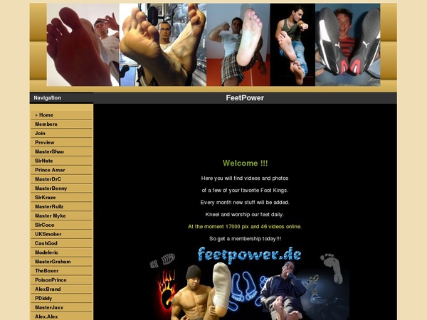 Feetpower.de With Paypal