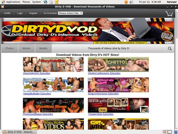 Free Dirty D VOD Account New