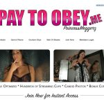 Free Pass For Pay To Obey Me