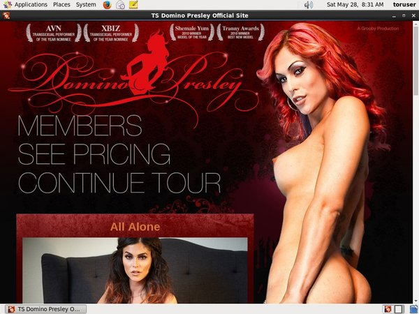 Free Pass For TS Domino Presley