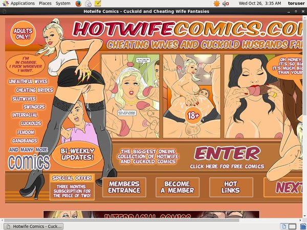 Hotwife Comics Paypal Trial