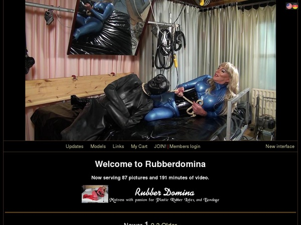 How To Get Free Rubber Domina Account