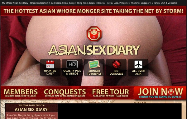 Limited Asian Sex Diary Discount Offer