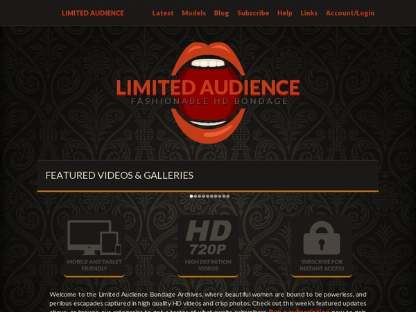 Limited Audience Discount (SAVE 63%)