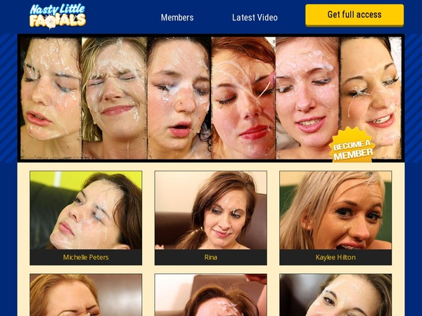 Nasty Little Facials Checkout Page