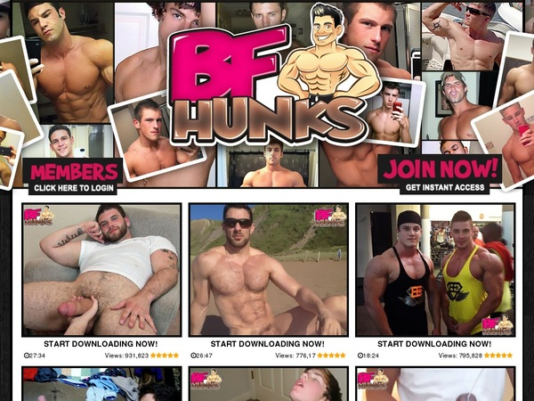 New Bfhunks Discount Offer