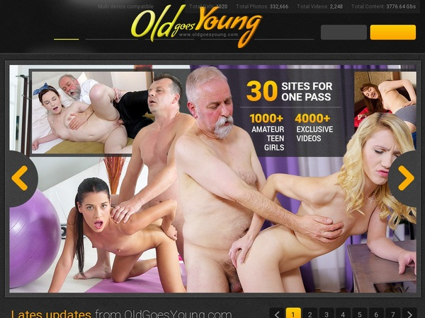 Old Goes Young Limited Promotion