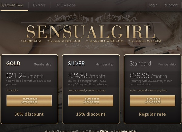 Sensual Girl Coupon
