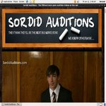 Sordid Auditions V2 Join Now