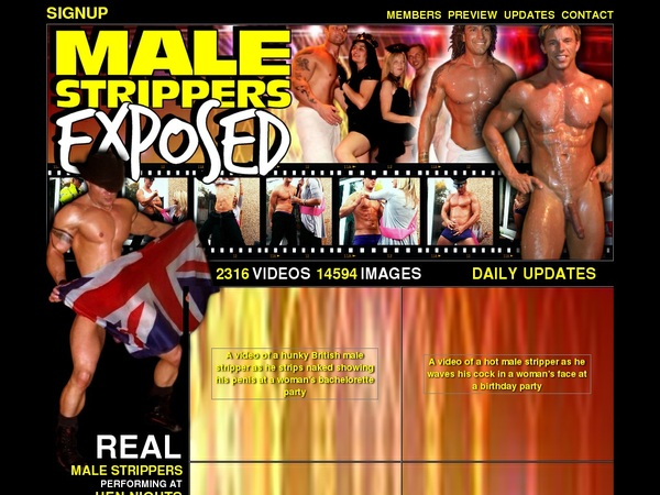 Special Male Strippers Exposed Discount