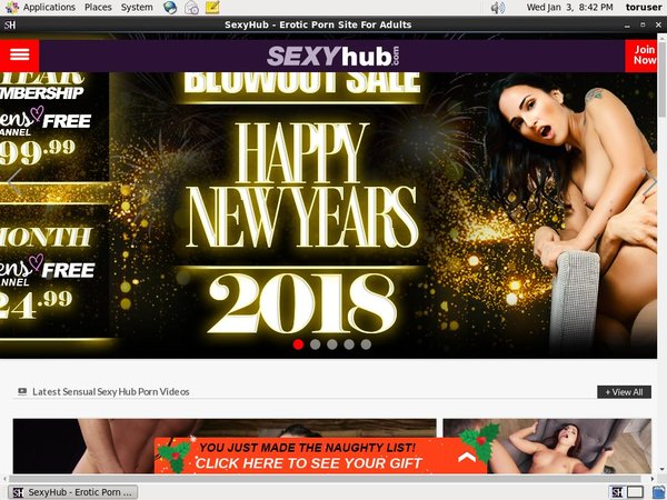 Use Sexyhub Discount Link