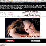Username And Password For Extreme Hair Cut
