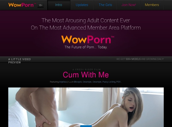 Wow Porn Pussy