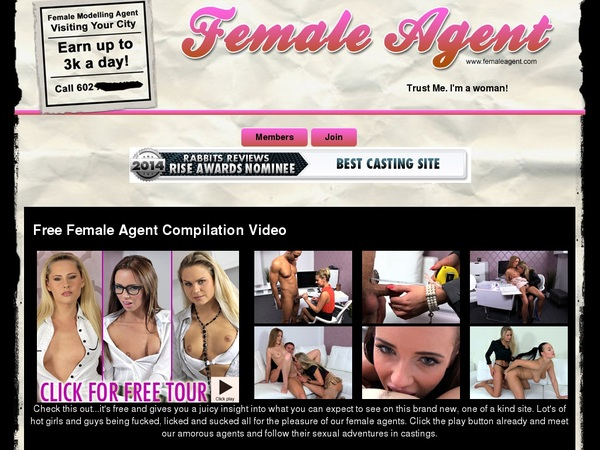 Where To Get Free Femaleagent.com Account