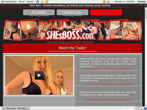 Shesboss Pro Biller Page
