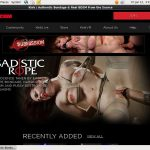 Sadistic Rope Join With Phone