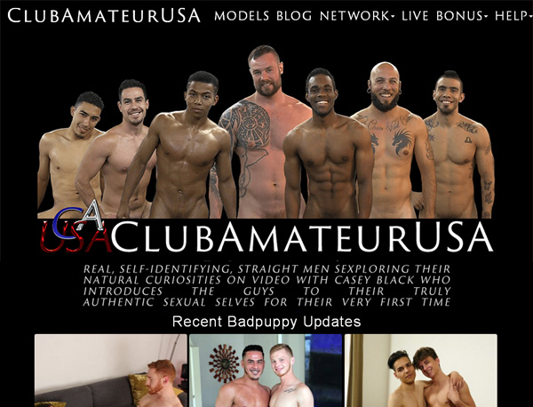 Join Club Amateur USA Paypal