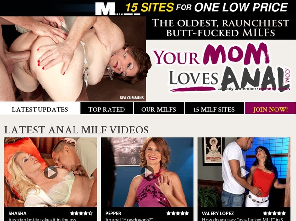 Your Mom Loves Anal X