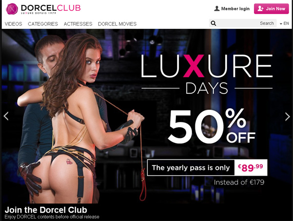 Does Dorcelclub Use Paypal?