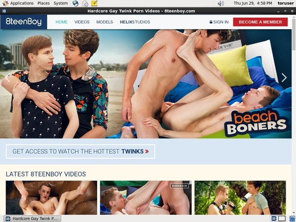 Sign Up For 8 Teen Boy