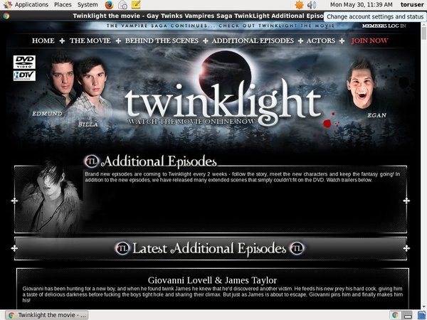 Twinklight.tv Hacked Account