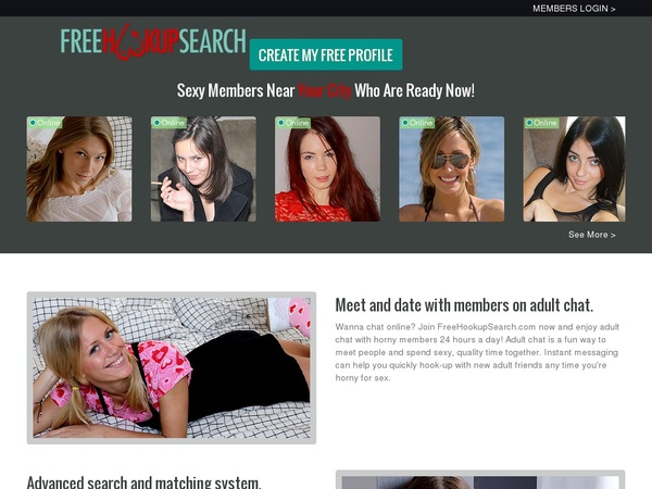 Free Hookup Search Free Accounts